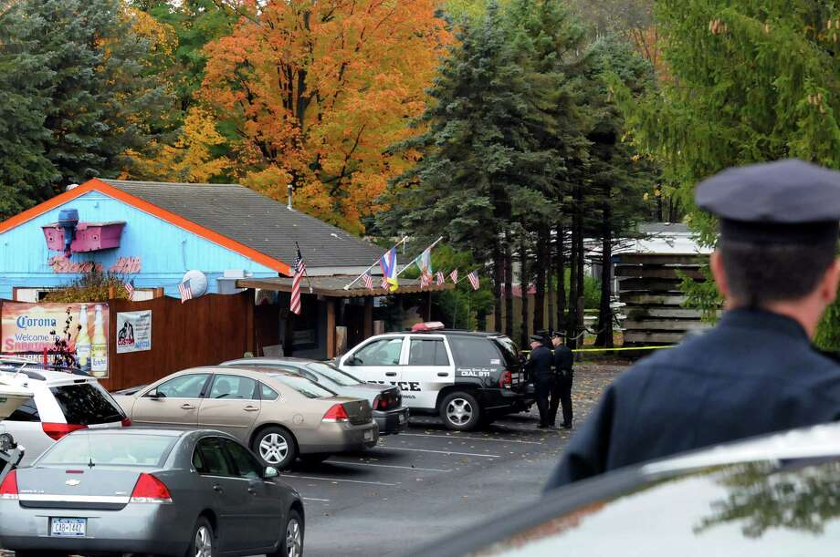 Scene of a murder-suicide on Friday, Oct. 4, 2013, at Bayshores Tropic Hut and Marina in Saratoga Springs, N.Y. (Cindy Schultz / Times Union) Photo: Cindy Schultz / 00024135A