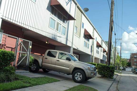 "Residents on Crosby near downtown Houston are routinely being ticketed for parking on the sidewalk, although a neighborhood official found that the ""sidewalks"" in question are legally on private property."