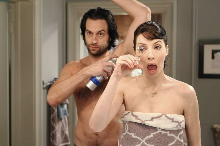 "Chris D'Elia as Alex Miller, Whitney Cummings as Whitney Cummings in ""Whitney"""
