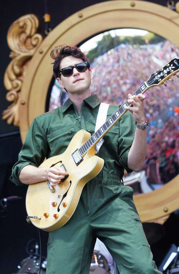 Ezra Koenig with Vampire Weekend performs on Day 1 of the 2013 Austin City Limits Music Festival at Zilker Park on Friday, Oct. 4, 2013, in Austin, Texas. Photo: Jack Plunkett, Associated Press / Invision