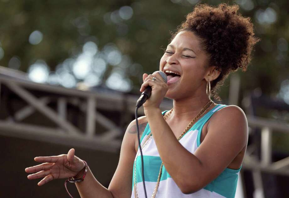 Latasha Lee & the Black Ties perform at the Austin City Limits Music Festival at Zilker Park in Austin, Texas, on Friday Oct. 4, 2013. Photo: Jay Janner, AP / Austin American-Statesman