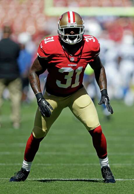 Niners safety Donte Whitner says the  Texans, and quarterback Matt Schaub specifically, shouldn't be taken lightly just because they are  coming off consecutive losses highlighted by the latter's turnovers at crucial moments in each. Photo: Marcio Jose Sanchez, STF / AP