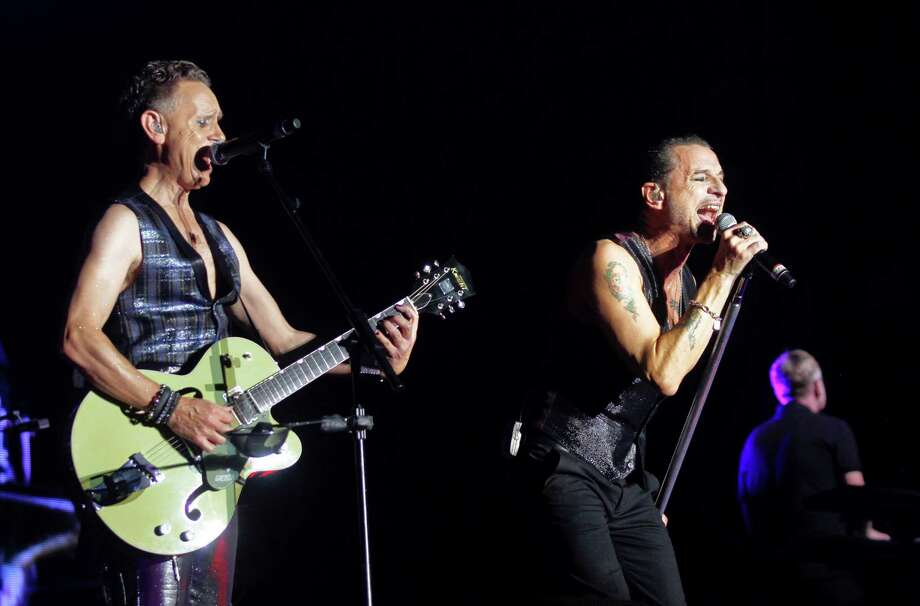 Depeche Mode's Martin Gore, left, and Dave Gahan perform on Day 1 of the 2013 Austin City Limits Music Festival at Zilker Park on Friday, Oct. 4, 2013 in Austin, Texas. Photo: Jack Plunkett, Associated Press / Invision