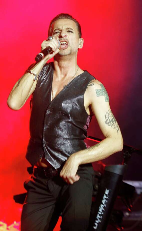 Depeche Mode's Dave Gahan performs on Day 1 of the 2013 Austin City Limits Music Festival at Zilker Park on Friday, Oct. 4, 2013 in Austin, Texas. Photo: Jack Plunkett, Associated Press / Invision