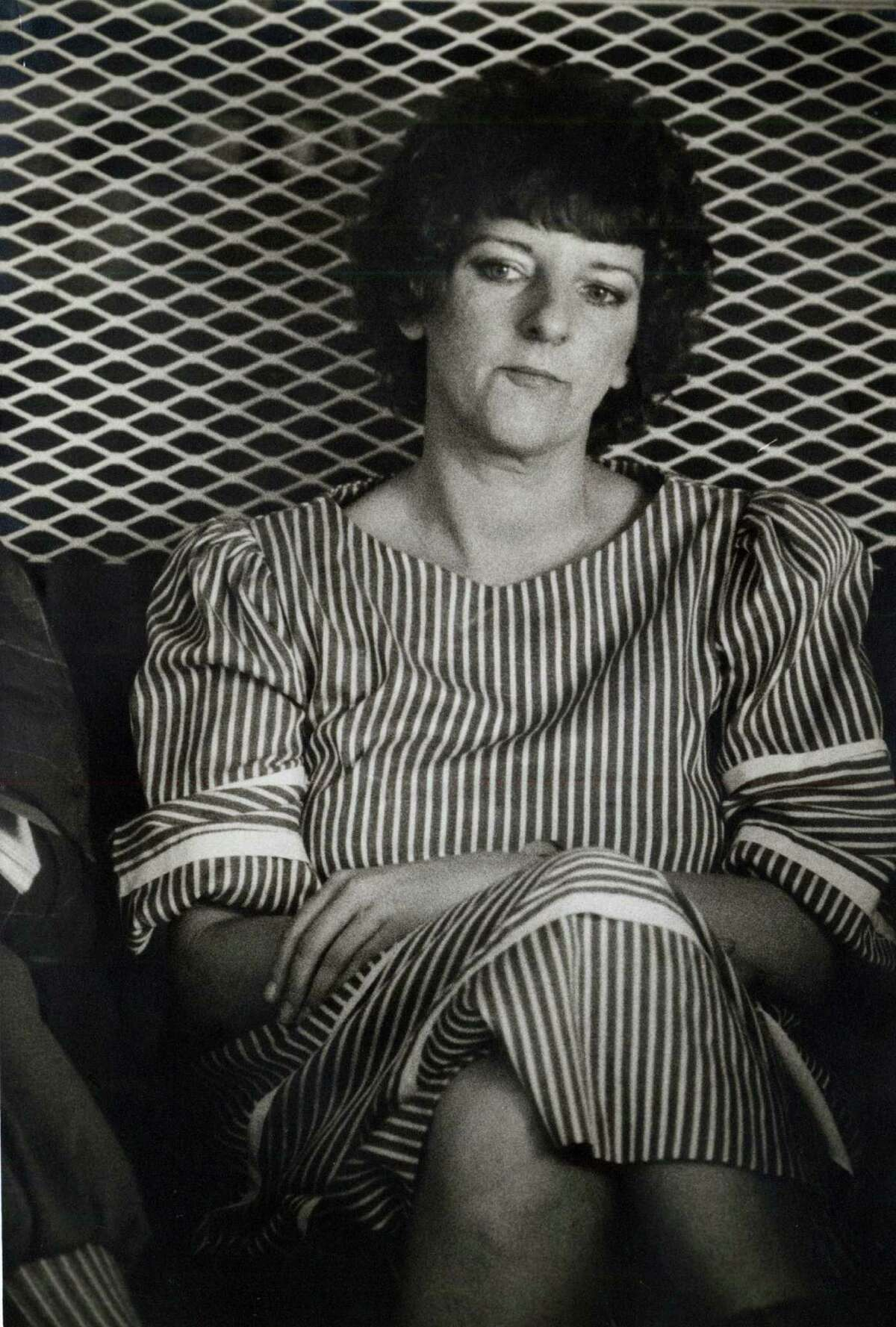 Genene Jones in 1984. The former pediatric nurse was suspected in the deaths of dozens of babies. She was convicted of murder in one death.