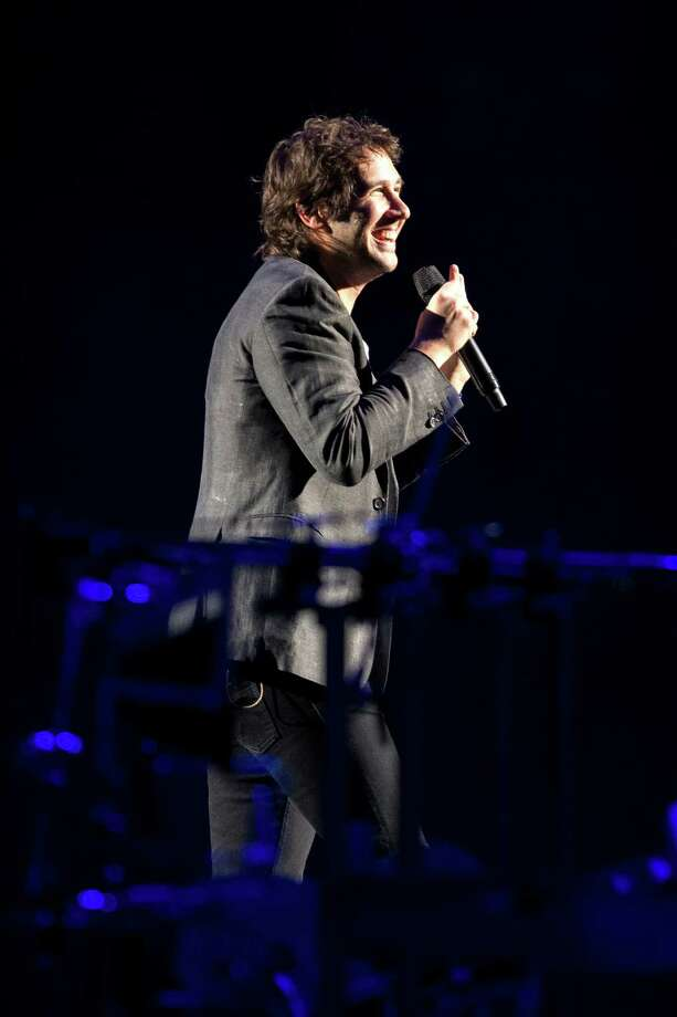 """Josh Groban and band perform for thousands during their """"In the Round Tour"""" Friday, October 4, 2013, at KeyArena in Seattle. Photo: JORDAN STEAD, SEATTLEPI.COM / SEATTLEPI.COM"""