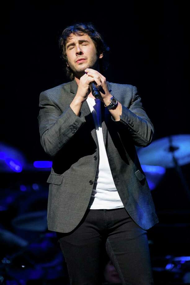 "Josh Groban and band perform for thousands during their ""In the Round Tour"" Friday, October 4, 2013, at KeyArena in Seattle. Photo: JORDAN STEAD, SEATTLEPI.COM / SEATTLEPI.COM"