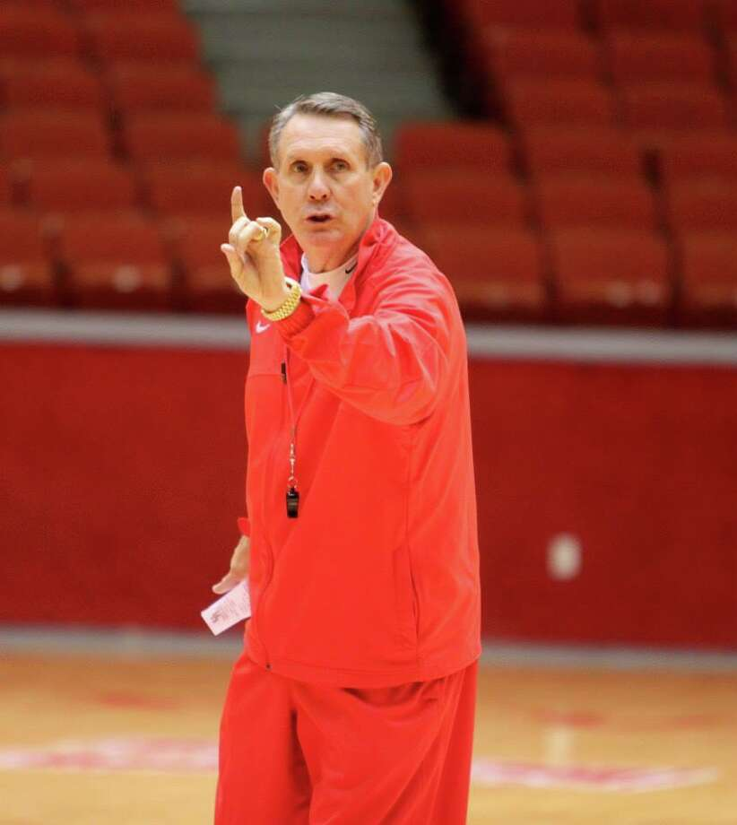 Coach James Dickey is entering his fourth season at UH. (UH Athletics)