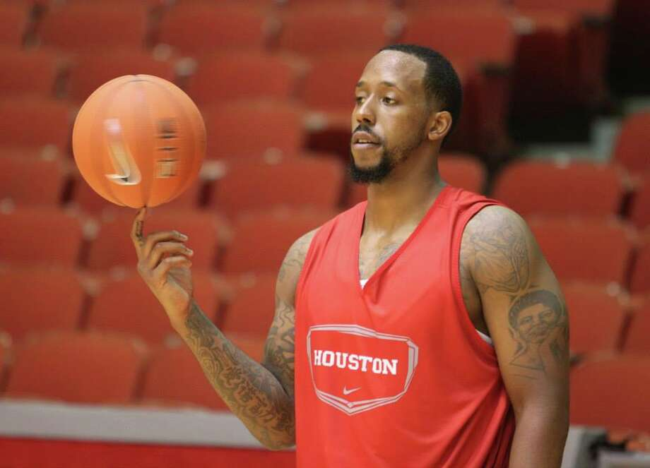 Forward J.J. Richardson is recovering from foot surgery and will be limited early in practice. (UH Athletics)