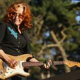 Bonnie Raitt performs at the Hardly Strictly Bluegrass Festival in Golden Gate Park, in San Francisco, Ca, on Friday Oct. 4, 2013