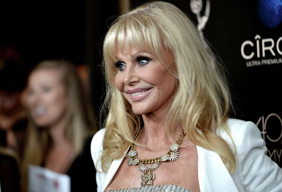 Britt Ekland arrives at the 40th Annual Daytime Emmy Awards on Sunday, June 16, 2013, in Beverly Hills, Calif. (Photo by Richard Shotwell/Invision/AP) Photo: Richard Shotwell / Invision