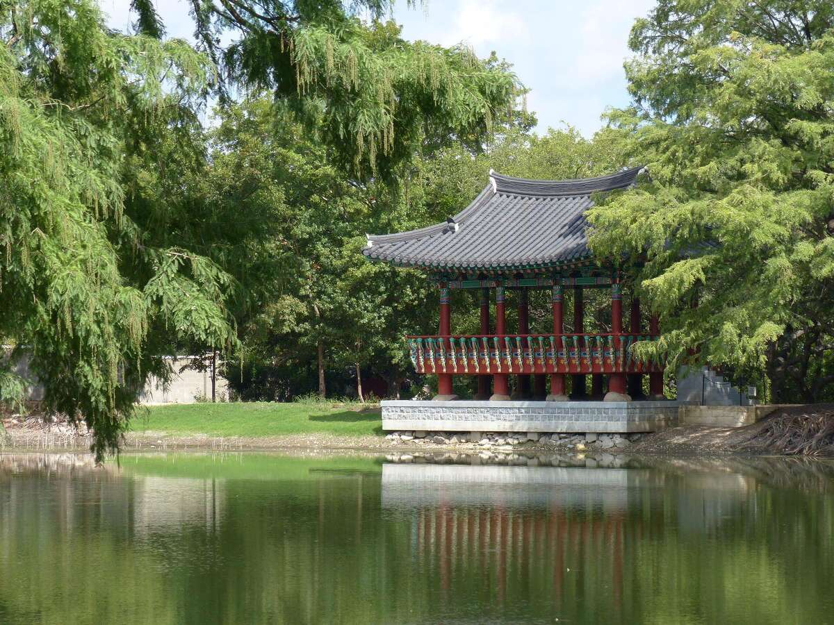 The Korean pavilion, a 2010