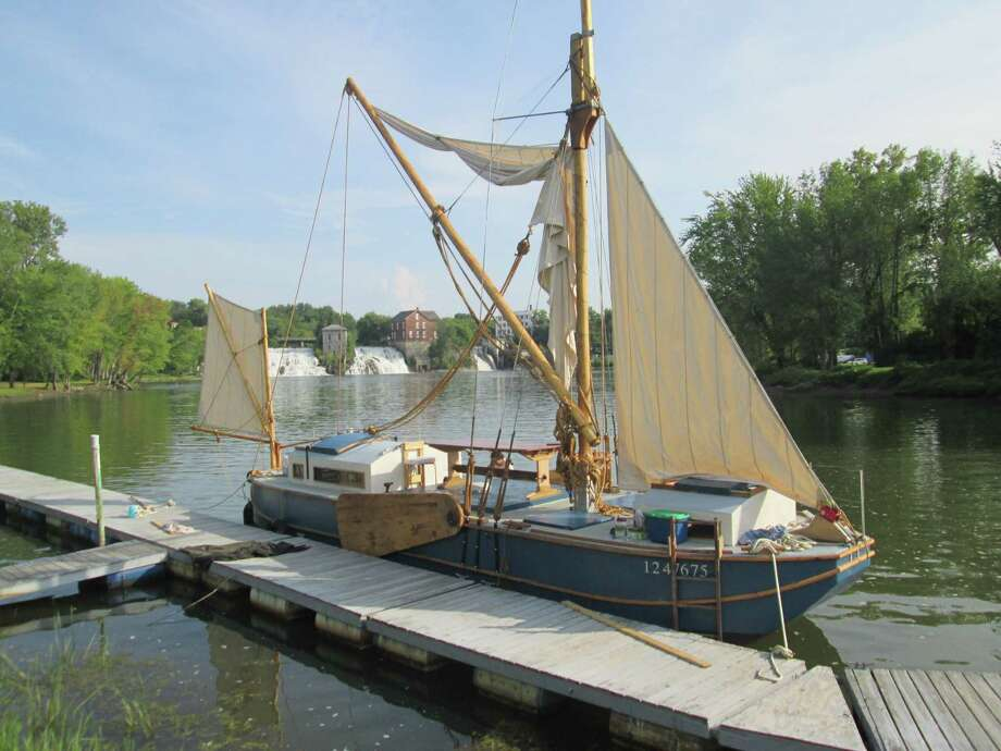 Ceres at the dock in Vergennes, Vt.