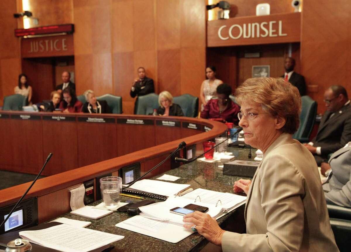 City of Houston Councilwoman Ellen Cohen