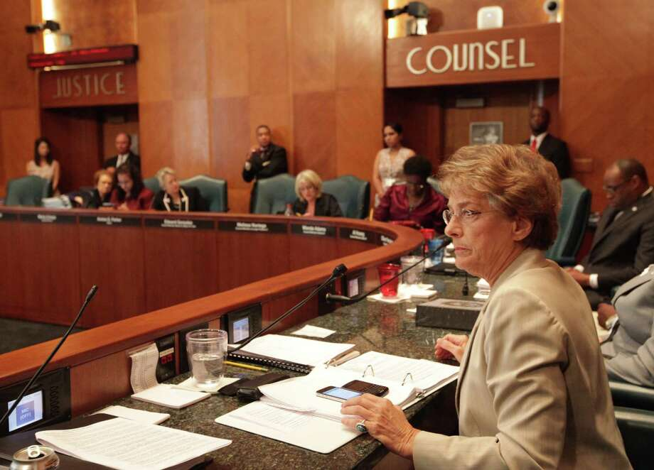 City of Houston Councilwoman Ellen Cohen Photo: Mayra Beltran, Staff / © 2012 Houston Chronicle