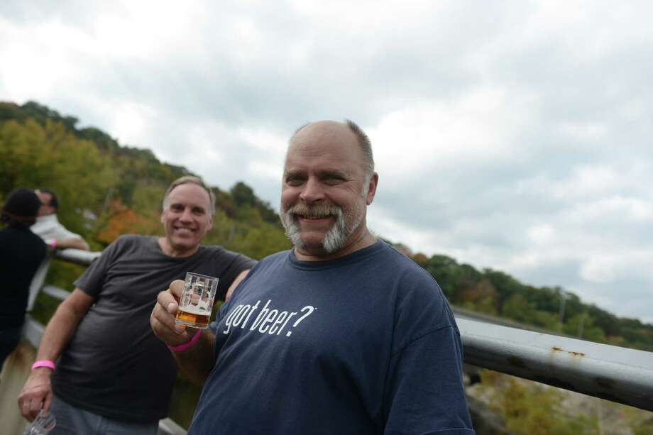 Scenes from Smoke in the Valley chili and brew festival in Seymour, Conn. Saturday, Oct. 5, 2013. Photo: Autumn Driscoll / Connecticut Post