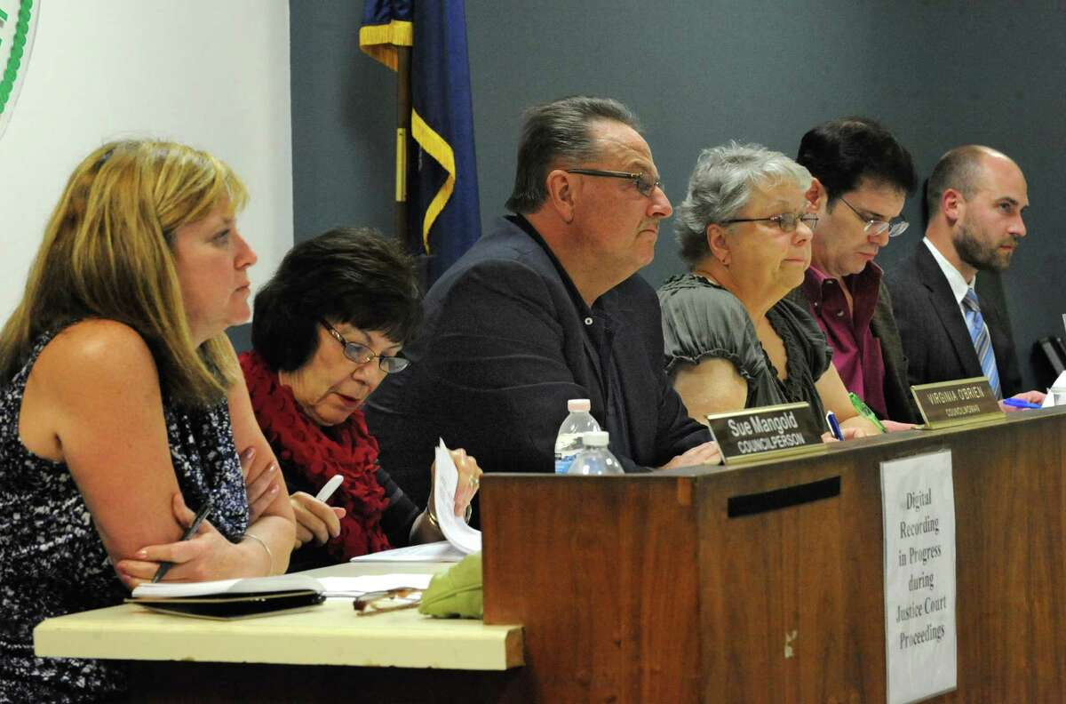The town board's new ethics draft includes a financial disclosure provision and limits on hiring relatives. (Lori Van Buren / Times Union)