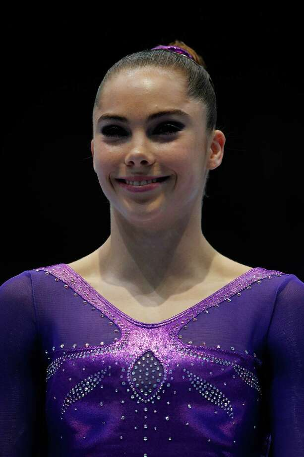 ANTWERPEN, BELGIUM - OCTOBER 05:  McKayla Maroney of USA poses after winning the Gold medal in the Vault Final on Day Six of the Artistic Gymnastics World Championships Belgium 2013 held at the Antwerp Sports Palace on October 5, 2013 in Antwerpen, Belgium.  (Photo by Dean Mouhtaropoulos/Getty Images) ORG XMIT: 181527362 Photo: Dean Mouhtaropoulos / 2013 Getty Images