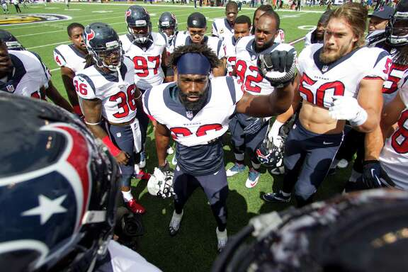 It's for times like this - a disappointing 2-2 start - that the Texans have brought on board Ed Reed, center. The veteran safety not only can provide off-field guidance but perhaps even more importantly lead by example on the field.