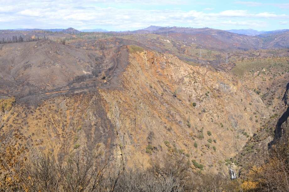The fire burned 402 square miles, including everything you can see in this photo Photo: Tom Stienstra/The Chronicle