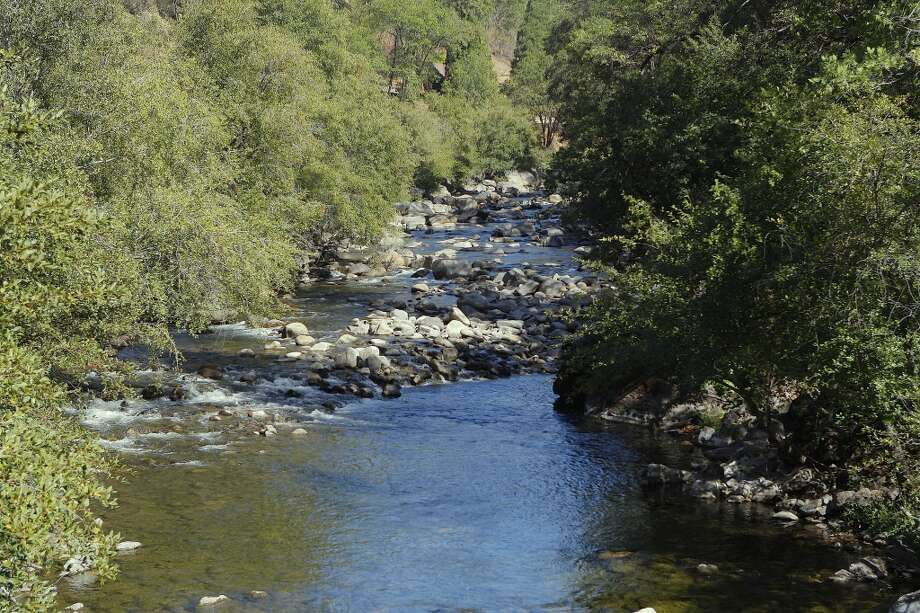 . . . yet the riparian zone along the Tuolumne River remains vibrant