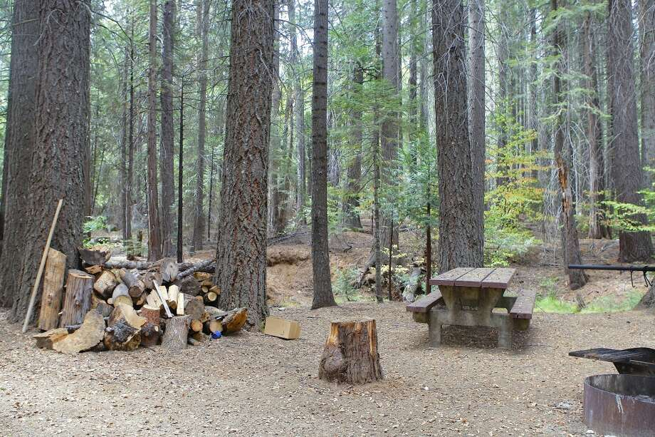 Cherry Lake campsite, located in center of Rim Fire, emerged untouched Photo: Tom Stienstra/The Chronicle