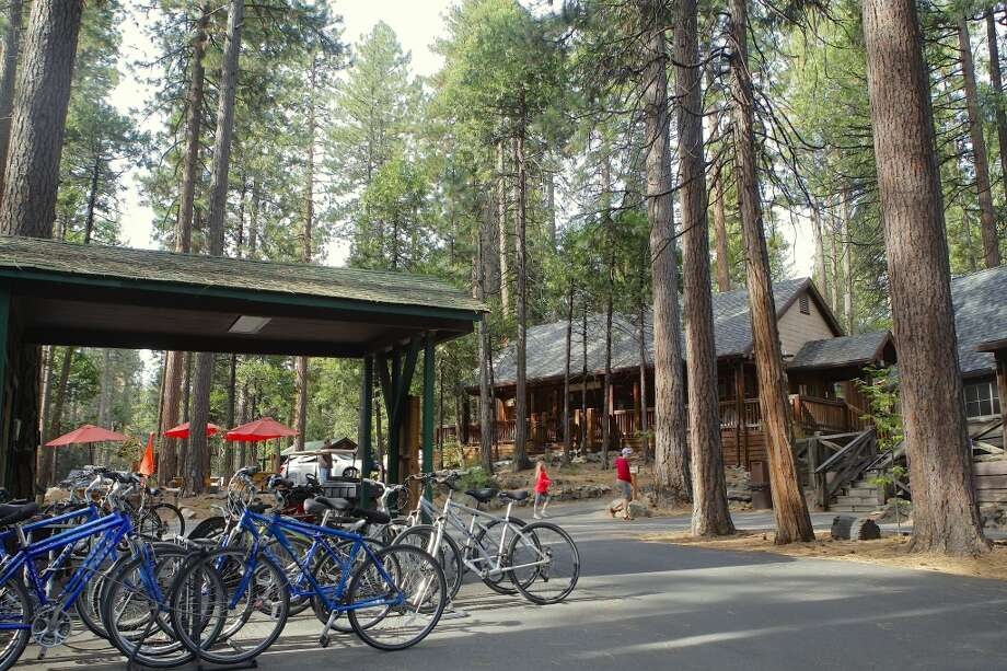 Evergreen Lodge, on the road to Hetch Hetchy, is open for business Photo: Tom Stienstra/The Chronicle
