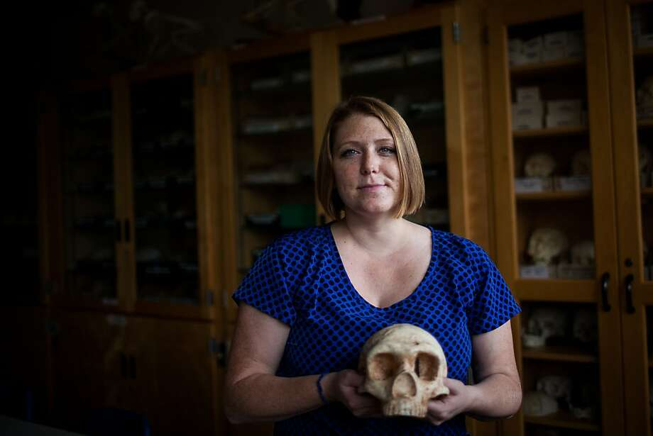 UC Davis student Naomi L. Martisius found a tool made by Neanderthals before modern humans arrived in France. Photo: Max Whittaker/Prime, Special To The Chronicle