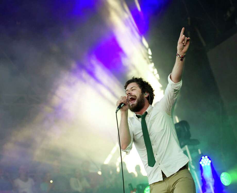 Michael Angelakos of Passion Pit performs at the Austin City Limits Music Festival, Saturday, Oct. 5, 2013 at Zilker Park in Austin, Texas.  Photo: Jay Janner, Associated Press / Austin American-Statesman