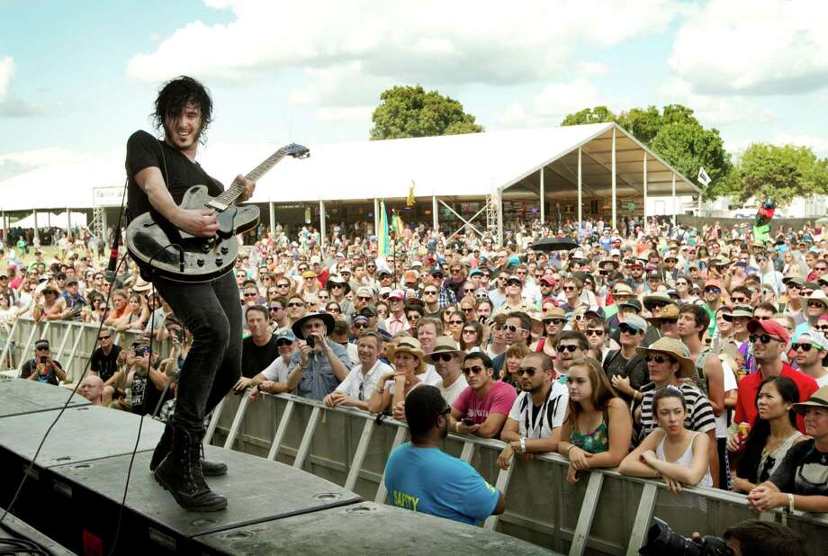 Reignwolf performs at the Austin City Limits Music Festival at Zilker Park in Austin, Texas, on Saturday Oct. 5, 2013. Photo: Jay Janner, Associated Press / Austin American-Statesman