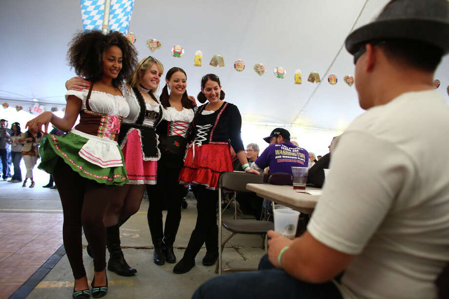 Participants show their costumes. Photo: JOSHUA TRUJILLO, SEATTLEPI.COM / SEATTLEPI.COM