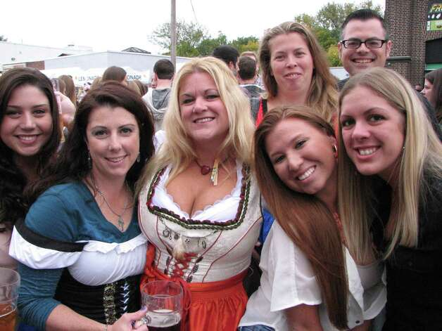 A can't-miss 'Seen' gallery: Oktoberfest  at Wolff's Biergarten in downtown Albany.