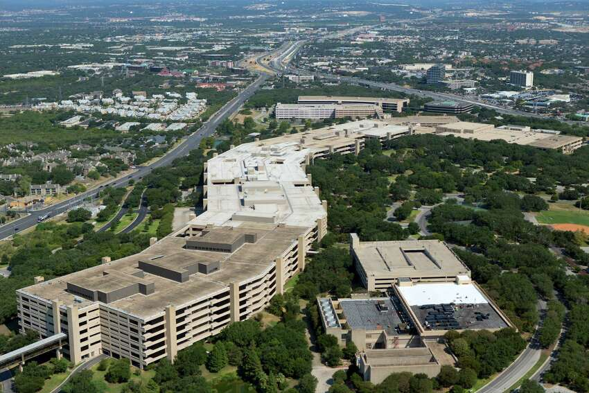 95. Loop 345 aka Fredericksburg Road (from Loop 410 to I-10 North) Annual hours of delay per mile: 118,857 hoursAnnual congestion cost: $11.82 millionPHOTO: The main USAA headquarters building is seen in an Aug. 24, 2013 aerial image looking south. Loop 345 follows Fredericksburg Road, which is seen on the left side of the building, while I-10 runs in the upper right corner of the image.