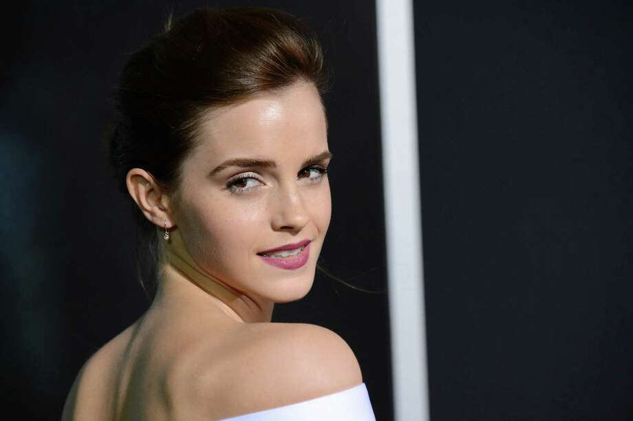 "Glamming - Actress Emma Watson attends the premiere of ""Gravity"" at the AMC Lincoln Square Theaters on Tuesday, Oct. 1, 2013, in New York. Photo: AP"