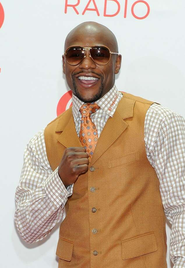 LAS VEGAS, NV - SEPTEMBER 21:  Professional boxer Floyd Mayweather Jr. attends the iHeartRadio Music Festival at the MGM Grand Garden Arena on September 21, 2013 in Las Vegas, Nevada.  (Photo by David Becker/Getty Images for Clear Channel) Photo: David Becker, Getty Images For Clear Channel