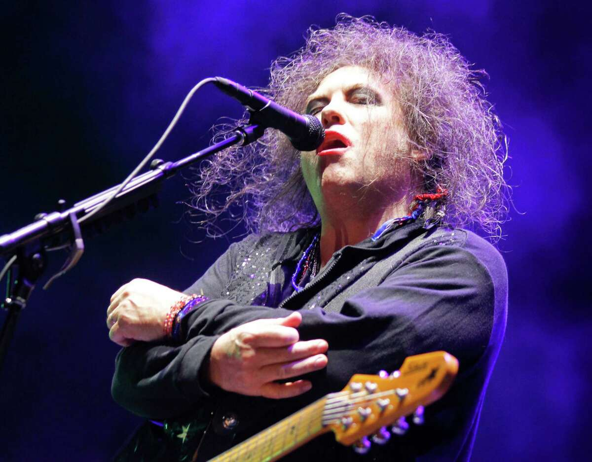 The Cure's Robert Smith performs on Day 2 of the 2013 Austin City Limits Music Festival at Zilker Park on Saturday, Oct. 5, 2013 in Austin, Texas.