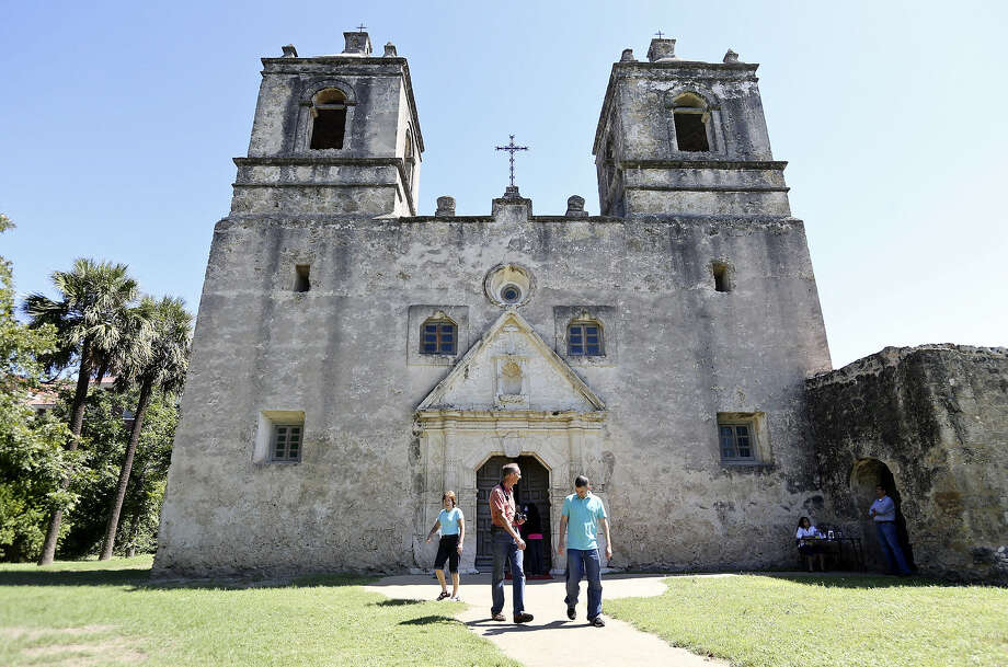 The San Antonio Missions National Historical Park is the largest collection of Spanish colonial resources in the country. Click ahead to see more national parks in the Lone Star State. Photo: Edward A. Ornelas / San Antonio Express-News