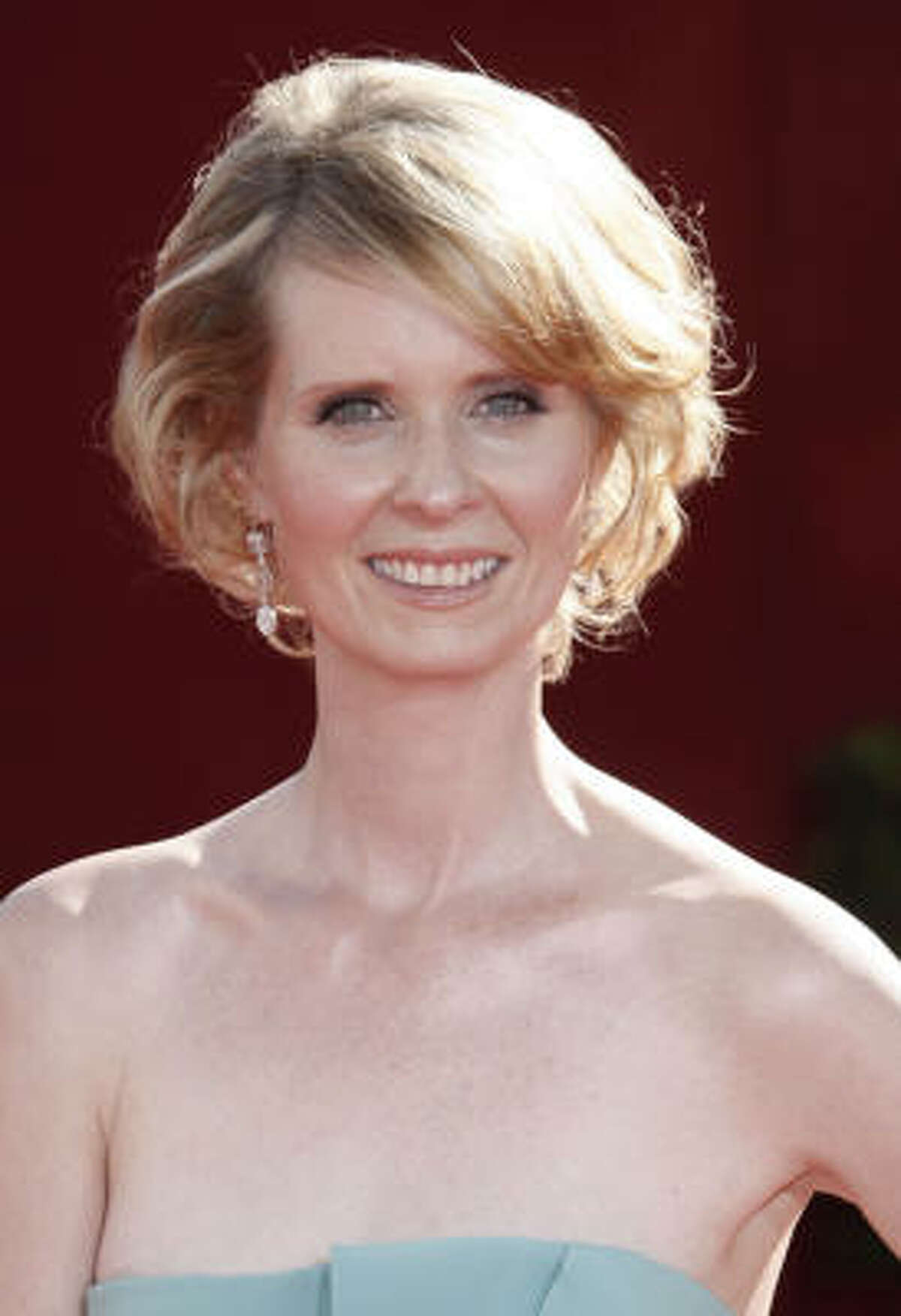 """""""Sex in the City"""" star Cynthia Nixon was diagnosed in 2006 at the age of 40."""
