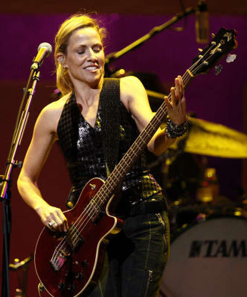 Singer Sheryl Crow was diagnosed in 2006, at the age of 44.