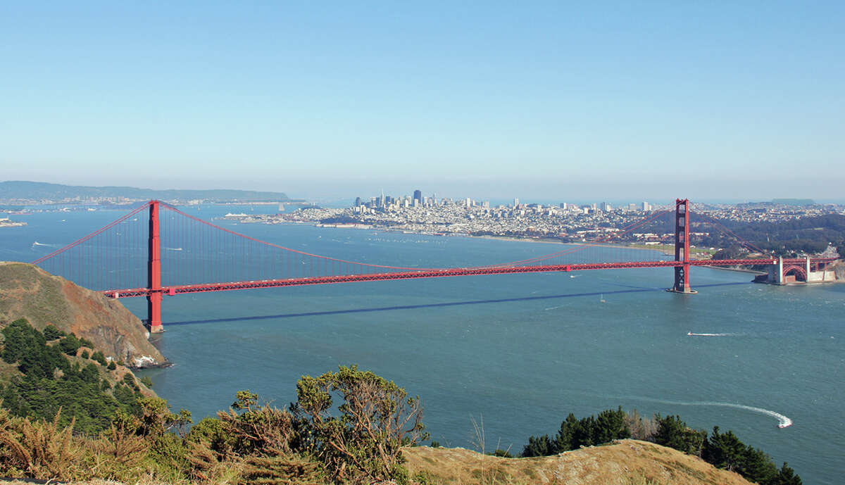 2. HAWK HILL.  For a bird's-eye view of the entire city, head over to Hawk Hill in the Marin Headlands.