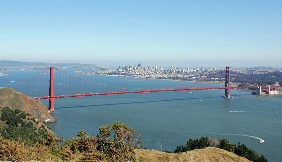 2. HAWK HILL.  For a bird's-eye view of the entire city, head over to Hawk Hill in the Marin Headlands. Photo: PRBurzynski, Flickr