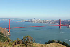 2. HAWK HILL  For a bird's-eye view of the entire city, head over to Hawk Hill in the Marin Headlands.
