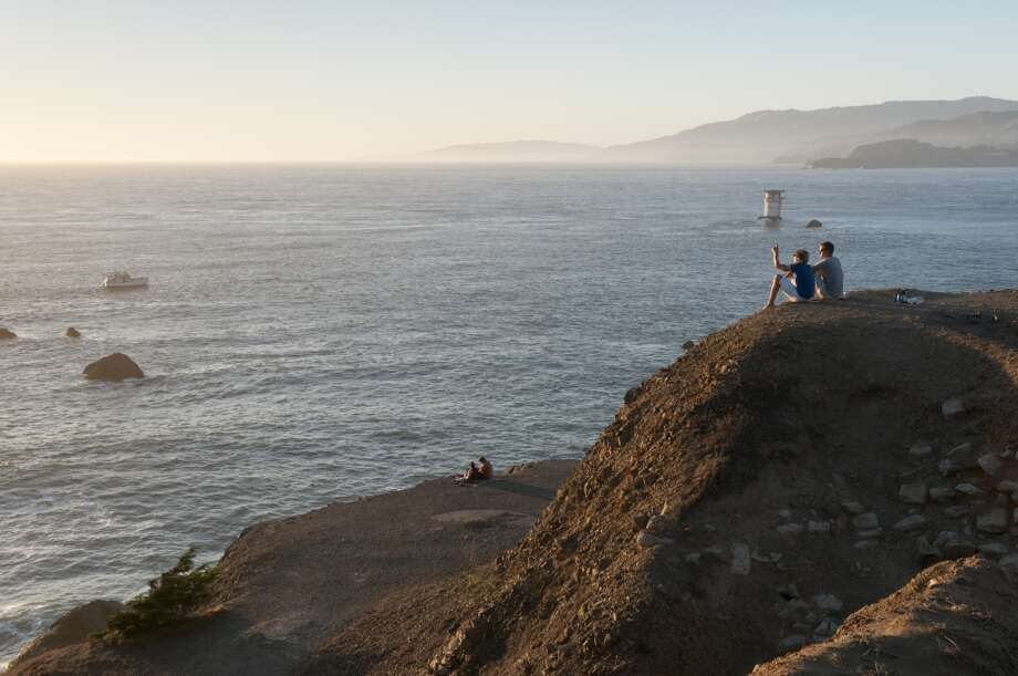 8. LANDS END. If you want to get away from the hustle and bustle of urban life, but don't actually want to leave the city limits, trek over to the Mile Rock overlook at Lands End on the Coastal Trail for spectacular views of the Pacific Ocean. Parts of the trail also offer spectacular views of the Golden Gate Bridge. Photo: Roberto Soncin Gerometta, Getty Images/Lonely Planet Images