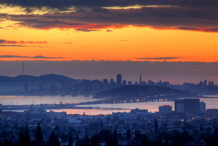 10. GRIZZLY PEAK, BERKELEY  If you're in the East Bay, it's hard to beat the spectacular view of the S.F. skyline from Grizzly Peak. Photo: Mathew Spolin, Getty Images/Flickr RF