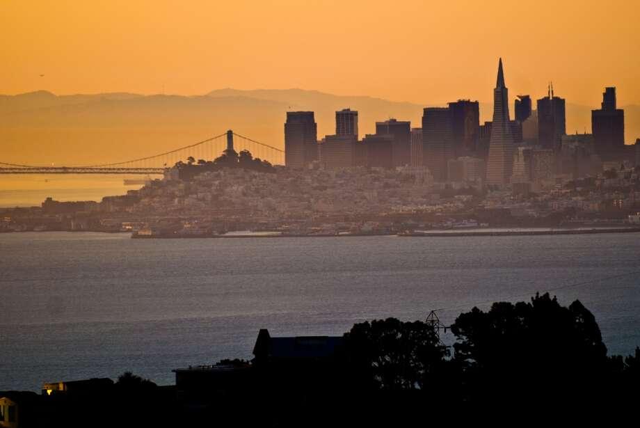 12. SAUSALITO.  Head just north of the city to Sausalito for a view of the skyline away from the crowded turnouts. Photo: Sean Sullivan, Getty Images