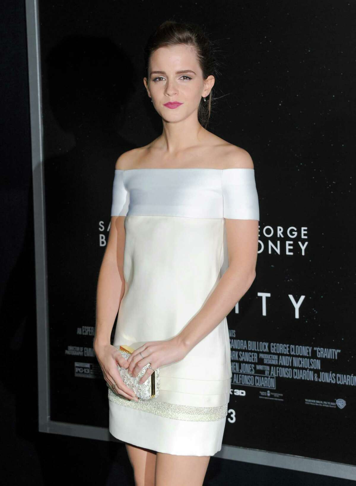 Actress Emma Watson attends the premiere of