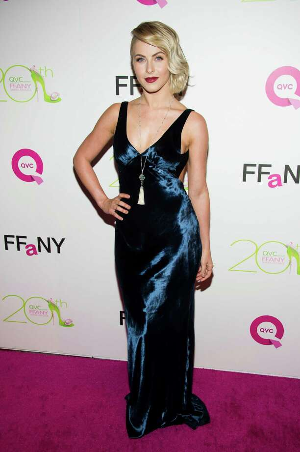 "Julianne Hough attends the 20th Annual ""FFANY Shoes on Sale"" Gala presented by QVC and FFANY on Tuesday, Oct. 1, 2013, in New York. Photo: AP"