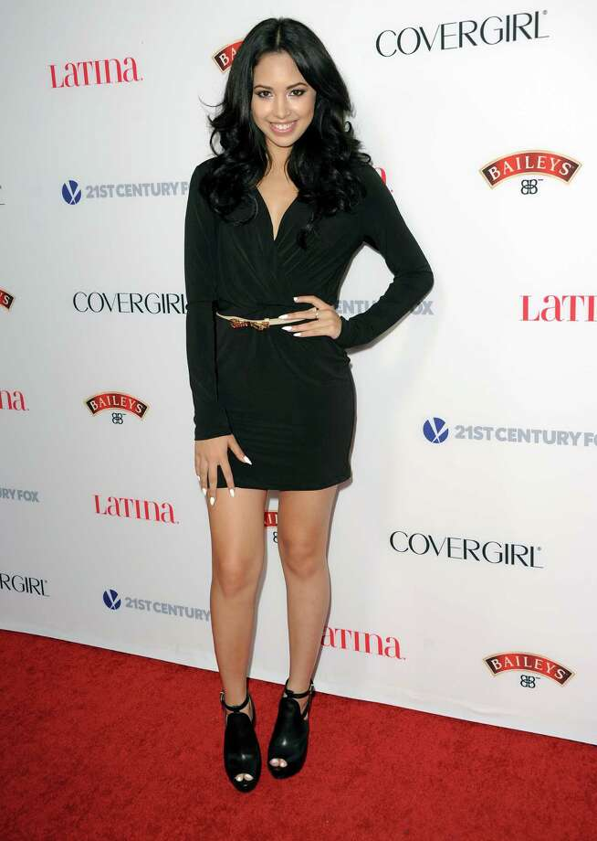 Jasmine Villegas arrives at the Latina Magazine's Hot Hollywood List event at The Redbury Hotel on Thursday, Oct. 3, 2013 in Los Angeles. Photo: AP
