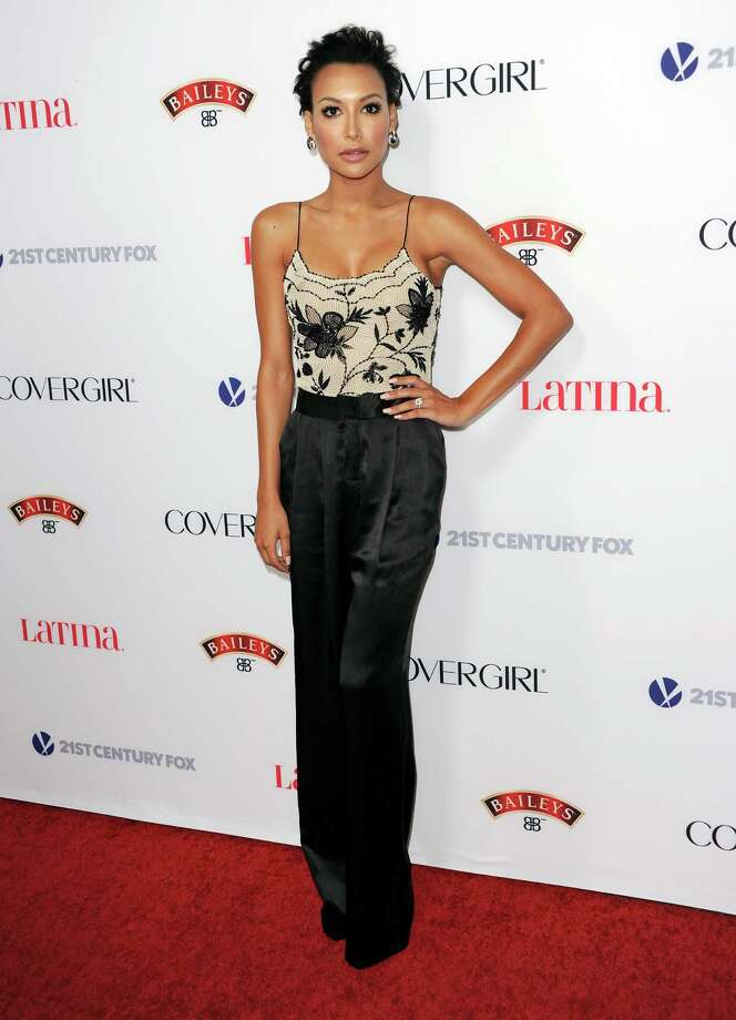 Naya Rivera arrives at the Latina Magazine's Hot Hollywood List event at The Redbury Hotel on Thursday, Oct. 3, 2013 in Los Angeles. Photo: AP