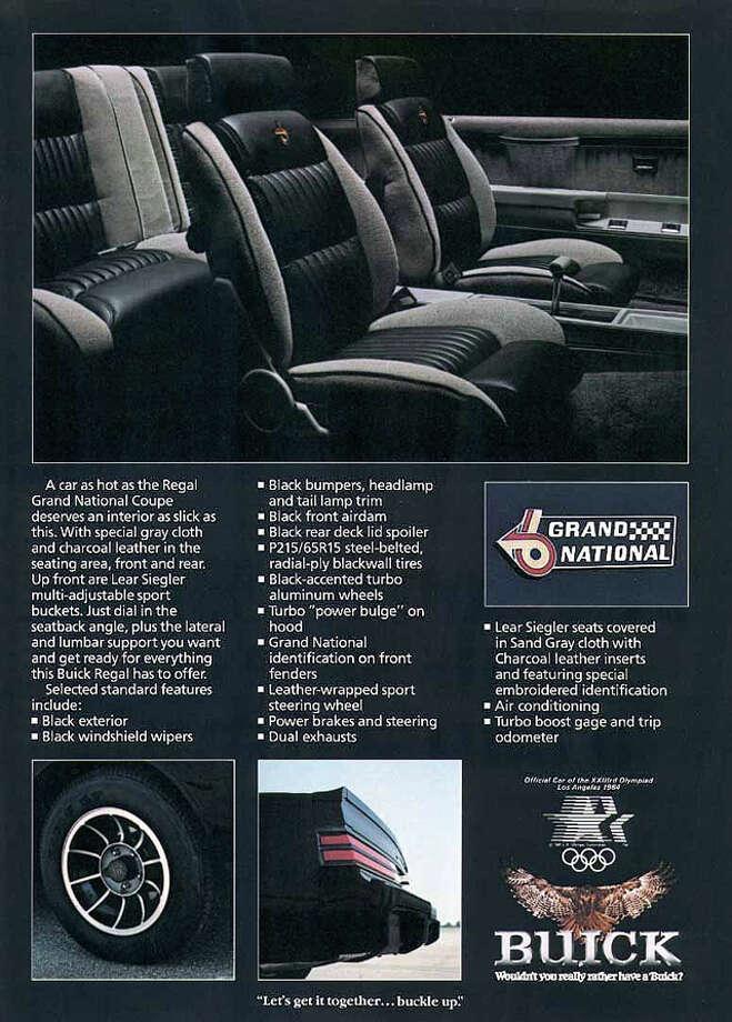 1984 Regal Grand National